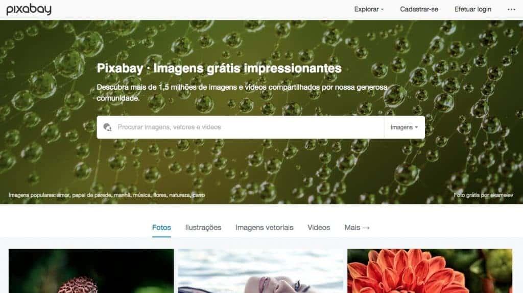 Os 27+ Melhores Bancos de Imagens Gratis da Web 1