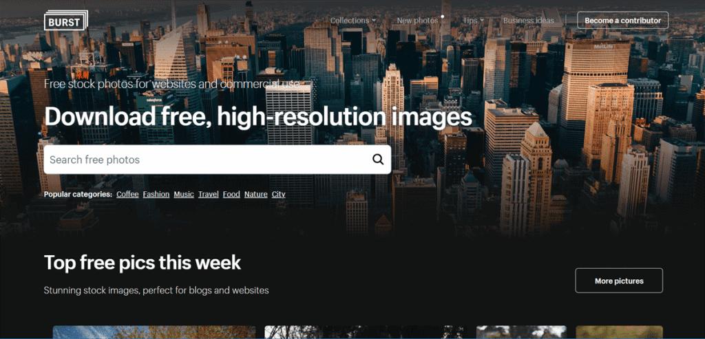 Os 27+ Melhores Bancos de Imagens Gratis da Web 8