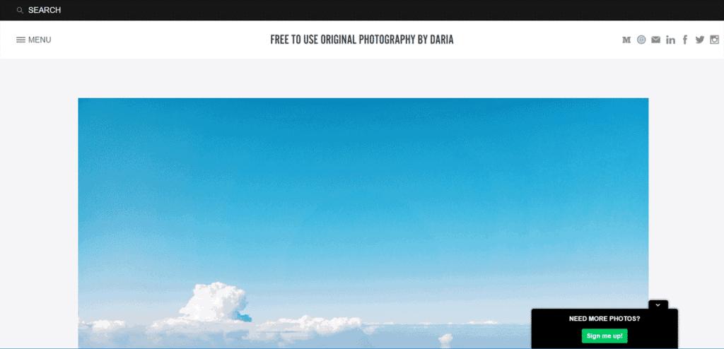 Os 27+ Melhores Bancos de Imagens Gratis da Web 18
