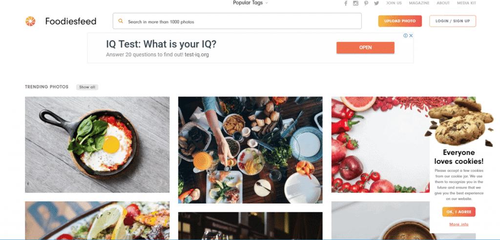 Os 27+ Melhores Bancos de Imagens Gratis da Web 20