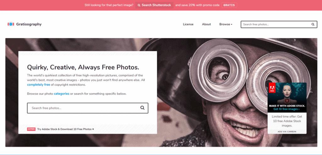 Os 27+ Melhores Bancos de Imagens Gratis da Web 6
