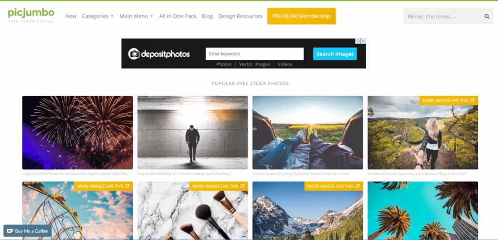 Os 27+ Melhores Bancos de Imagens Gratis da Web 11