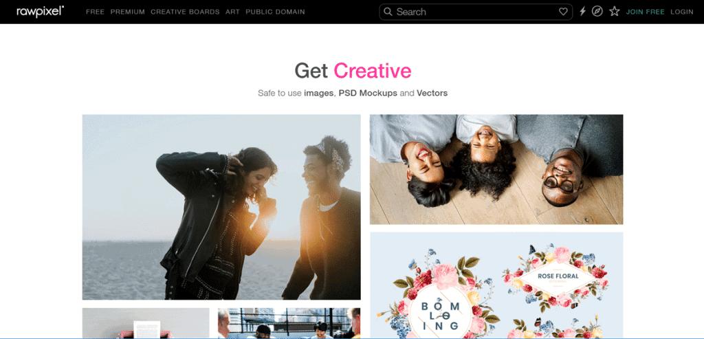 Os 27+ Melhores Bancos de Imagens Gratis da Web 9