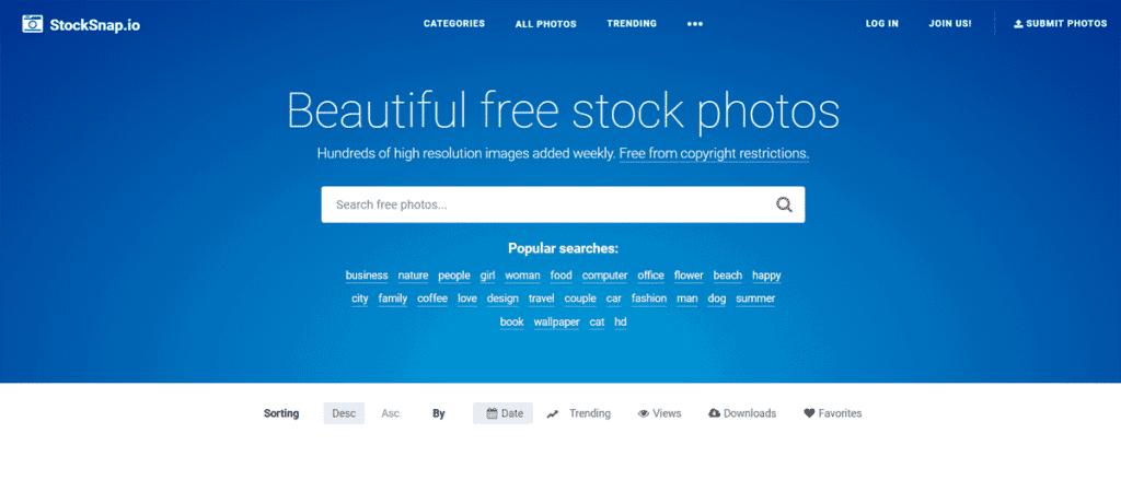 Os 27+ Melhores Bancos de Imagens Gratis da Web 15