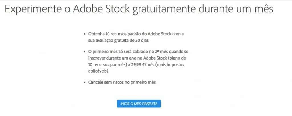 Como Obter Adobe Stock Grátis - Guia Passo a Passo 2