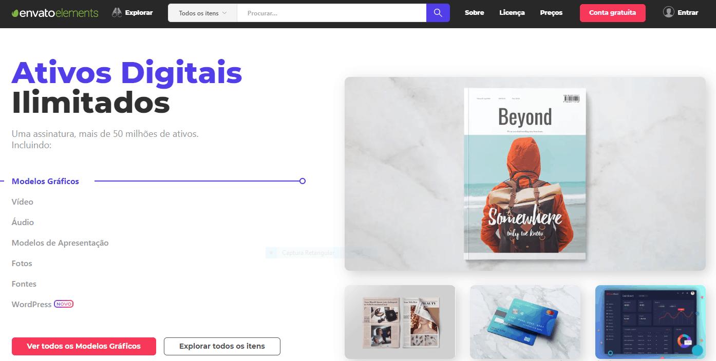 Envato Elements- Fotografias Ilimitadas: 4 Ofertas de Fotos de Bancos de Imagens com Downloads Ilimitados