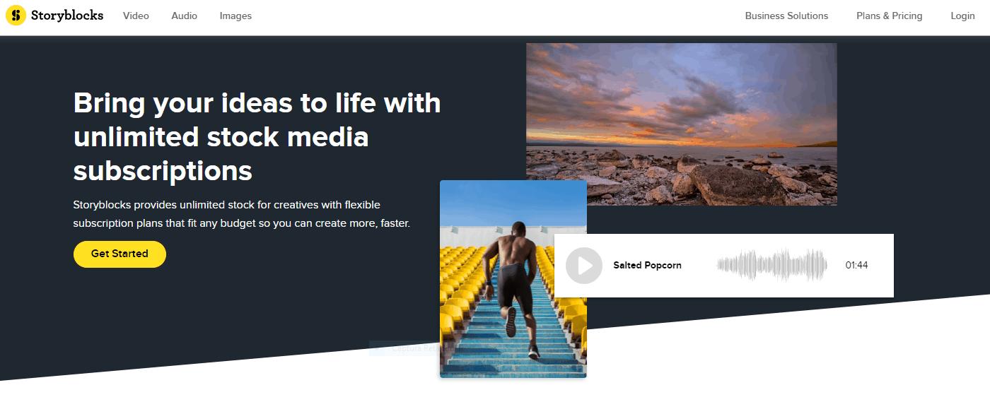 Storyblocks- Fotografias Ilimitadas: 4 Ofertas de Fotos de Bancos de Imagens com Downloads Ilimitados