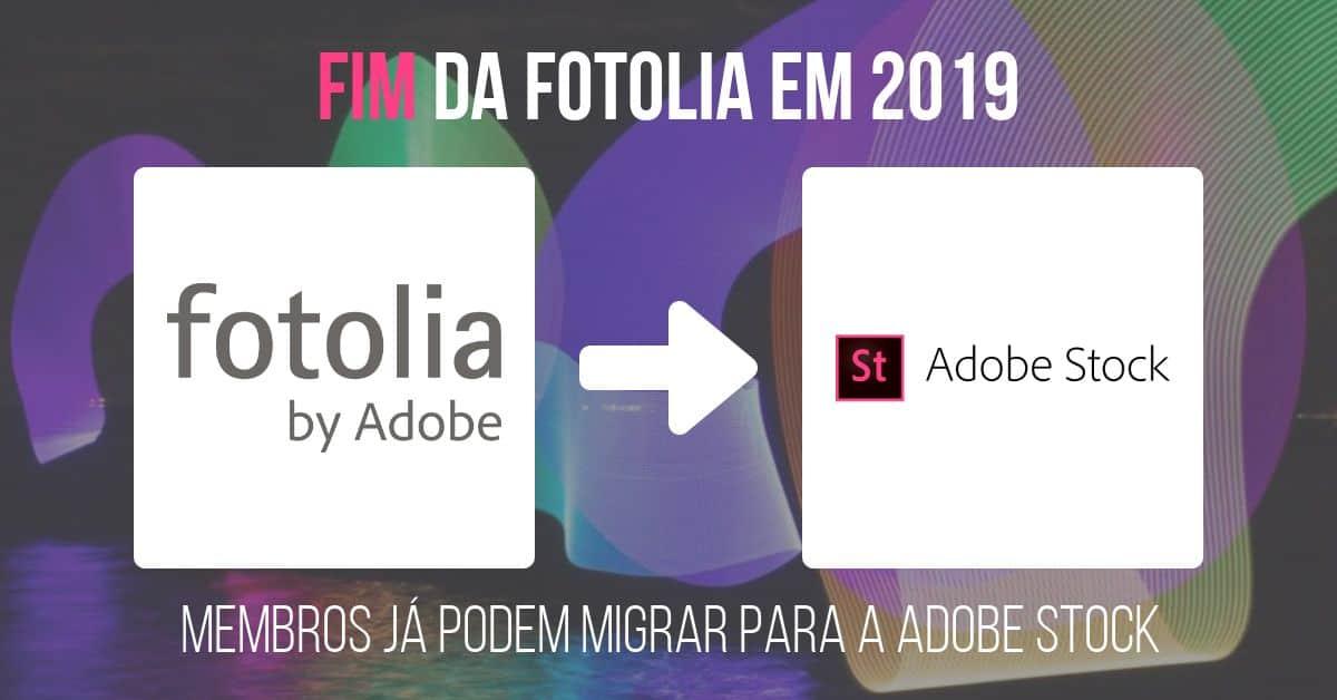 Fim da Fotolia em 2019