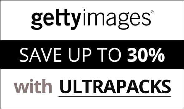 Ultrapacks Getty Images - Licenças Simples e até 30% de Economia 1