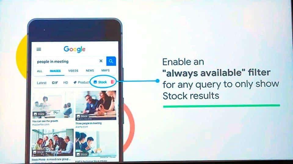 Google está Criando um Filtro Identificador de Fotos de Bancos de Imagens 1