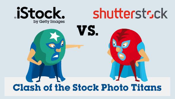 iStock vs. Shutterstock - Batalha de Titãs - Comparação Detalhada 1