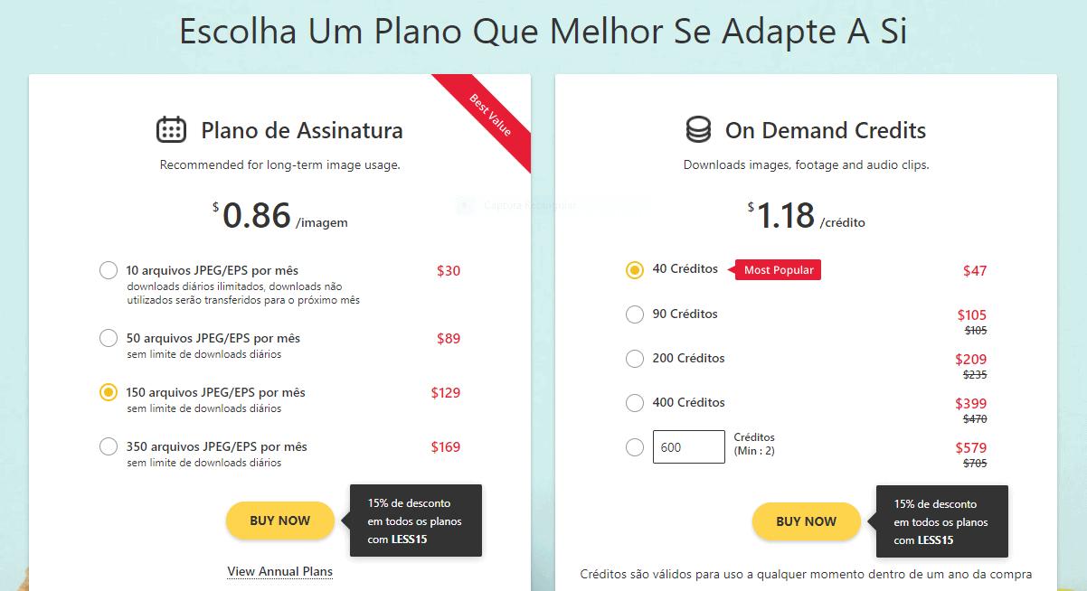 Análise da 123RF [wpsm_custom_meta type=date field=year] + Desconto Exclusivo de [coupon_discount]! 5
