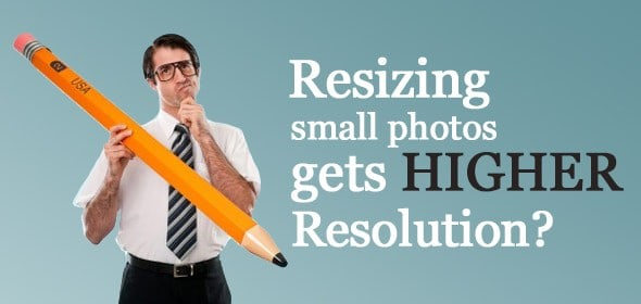 Como posso obter uma imagem com maior resolução? 1