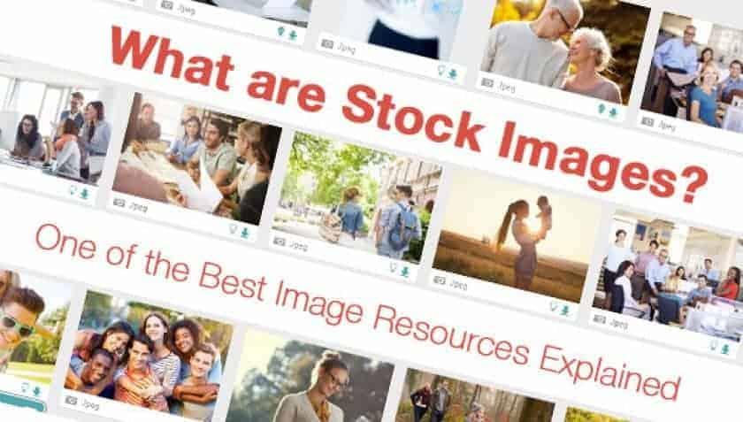 O que são imagens de stock