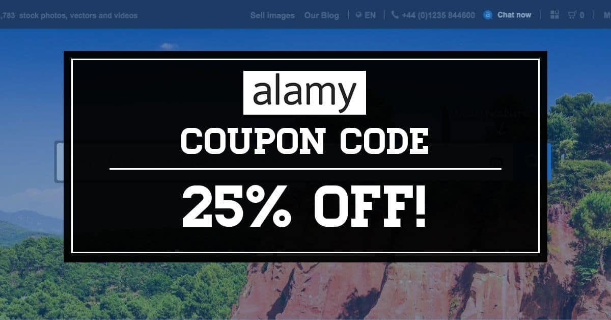 Cupom Alamy - Ganhe 25% de desconto em suas compras! 1