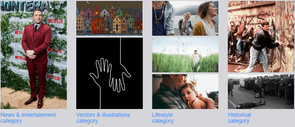 Mosaico de fotos Alamy