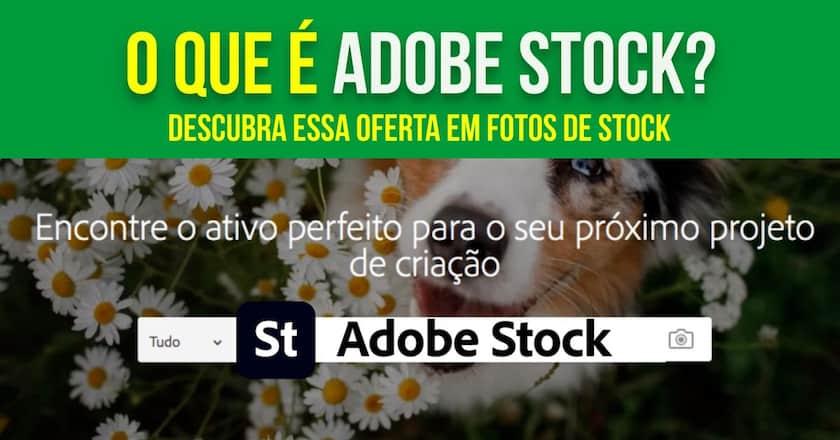 O que é Adobe Stock? Descubra essa oferta em fotos de stock! 1