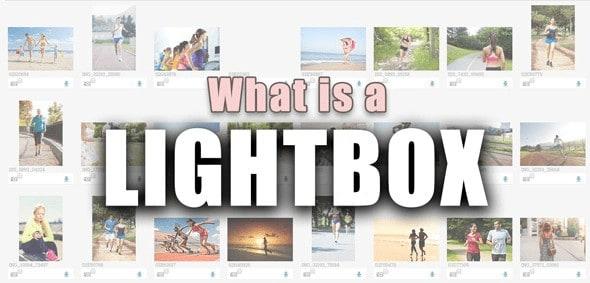 O que é uma Lightbox 1