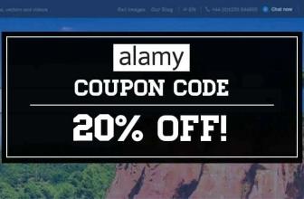 Cupom de desconto Alamy