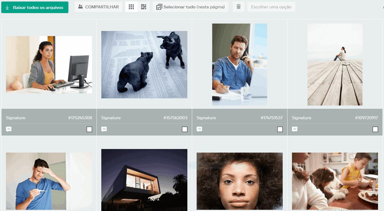 Mosaico imagens grátis iStock