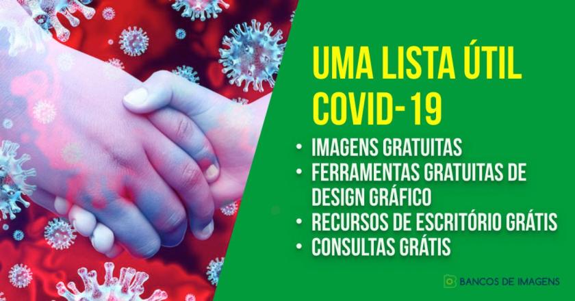 Coronavírus? Uma lista útil de imagens & recursos grátis! 1