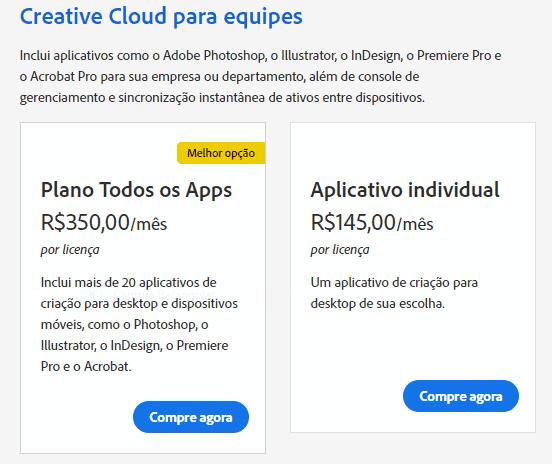 Preços da Adobe Creative Cloud: Encontre seu Plano Perfeito! 4