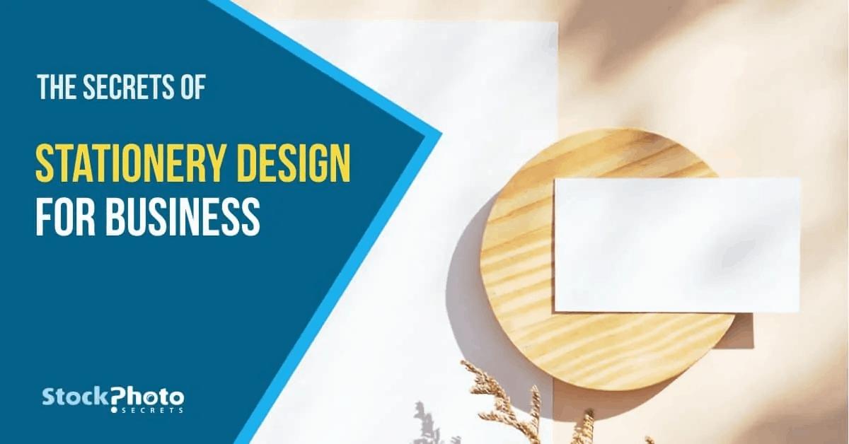 Modelos de design de papelaria