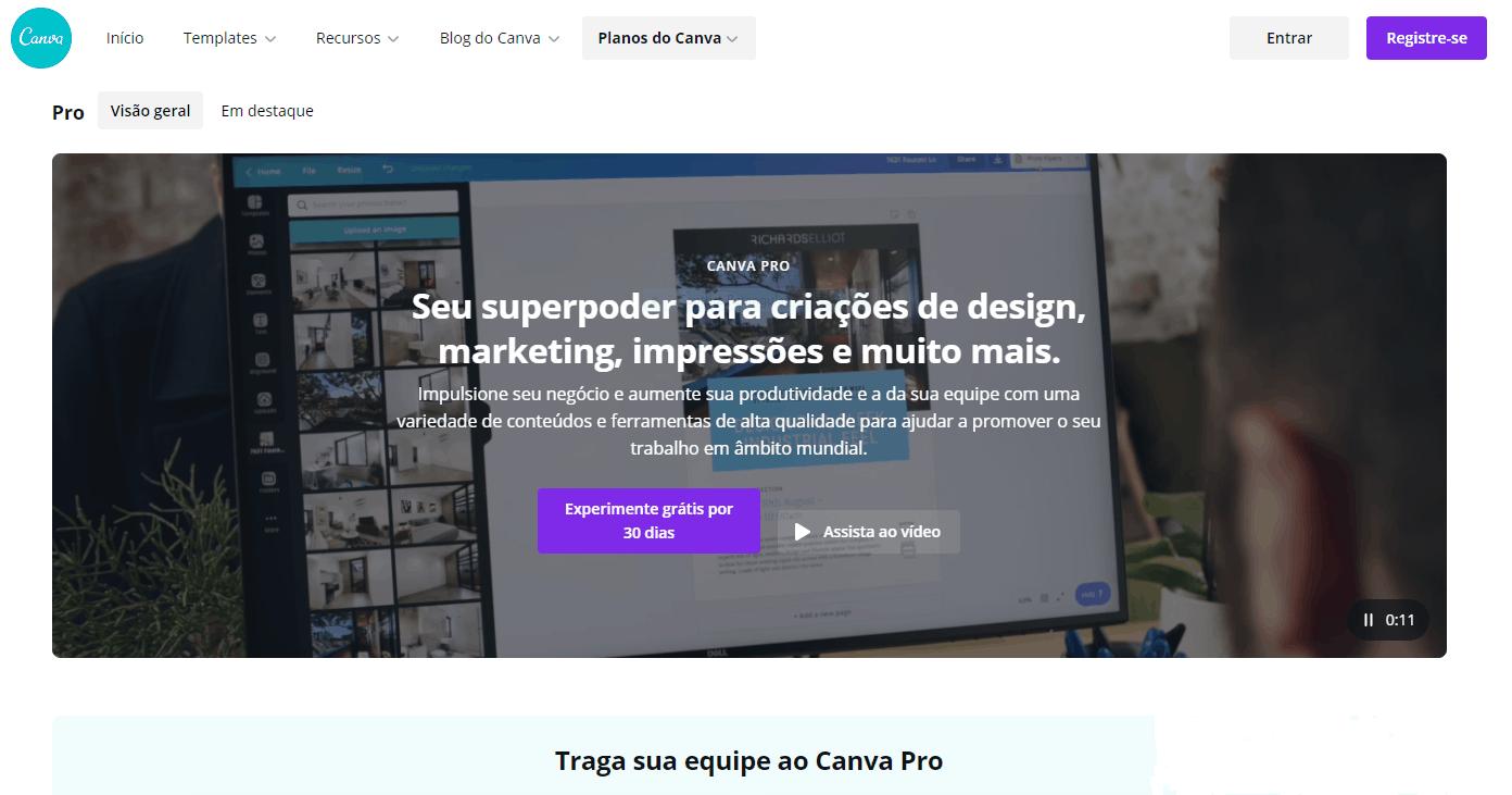 Análise Canva Pro: uma ferramenta de design com imagens de stock ilimitadas! 7