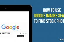 Como Usar a Pesquisa do Google Imagens para Encontrar Fotos de stock