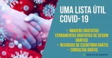Coronavírus? Uma lista útil de imagens & recursos grátis!