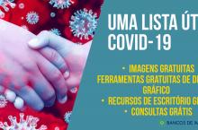 Em casa e confinado? uma lista útil de imagens & recursos grátis sobre o Coronavírus