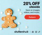 Ganhe 20% OFF em tudo na Shutterstock: válido para imagens, vídeos e música.