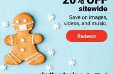Economize utilizando os cupons promocionais Shutterstock!