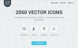 Icontail: 2050 Ícones Vetoriais em um Pacote com 50% OFF!