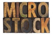 O que significa Microstock?