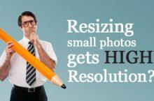 Como posso obter uma imagem com maior resolução?