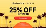 25% OFF com o Cupom de desconto Shutterstock de maio 2021!