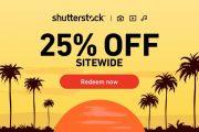 25% OFF em Todos os Produtos Footage (vídeo) na Shutterstock!