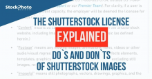 Licenças da Shutterstock: como usá-las nas suas imagens!