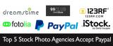 Quais os 5 Top Bancos de Imagens que Aceitam Paypal?