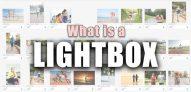 O que é uma Lightbox